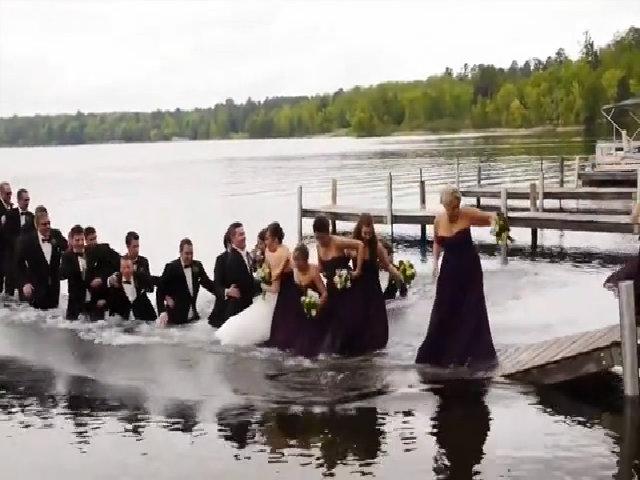 Buổi chụp ảnh cưới khó quên