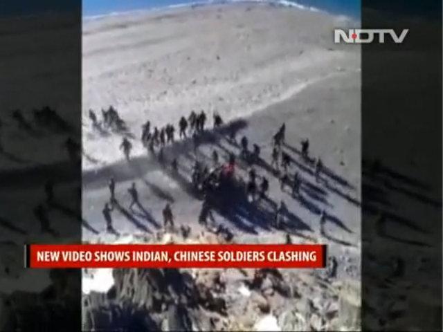 Xuất hiện video lính Trung Quốc và Ấn Độ ẩu đả