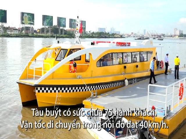 Trải nghiệm 11 km buýt đường sông đầu tiên ở Sài Gòn