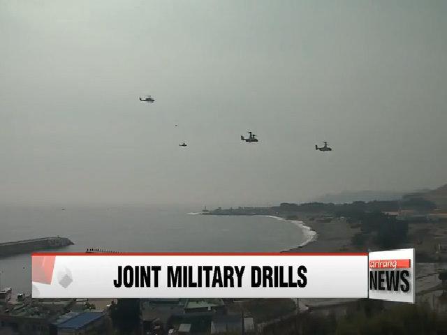 Mỹ-Hàn lần đầu tập trận đối phó chiến tranh hạt nhân