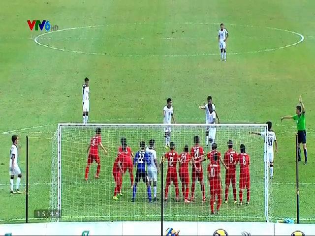 U22 Việt Nam thua 0-3 Thái Lan