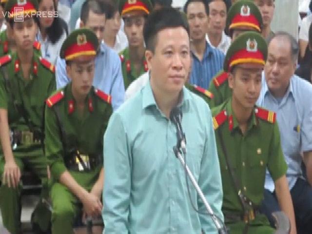 Hà Văn Thắm tại tòa