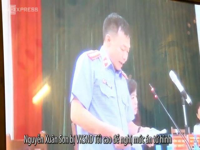 Nguyễn Xuân Sơn bị đề nghị tử hình