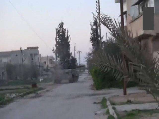 Quân đội Syria tiêu diệt xe tăng T-90A hiện đại của al-Qaeda