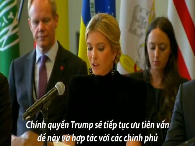 Phát biểu tại LHQ, Ivanka Trump vấp phải chỉ trích