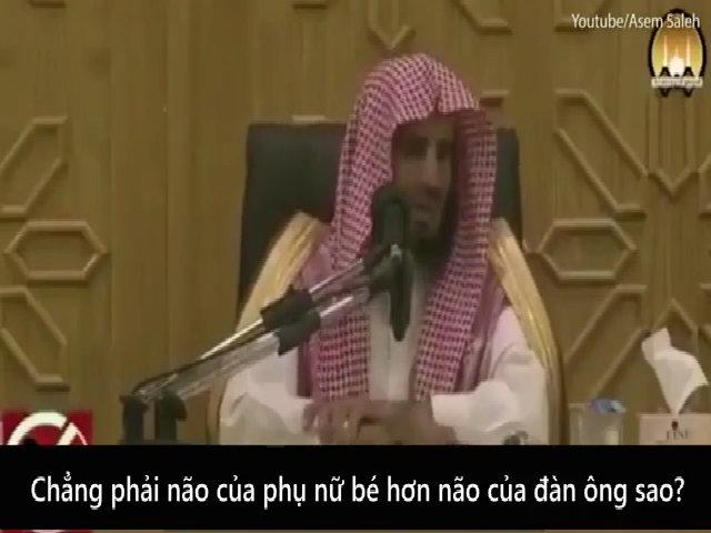 Giáo sĩ đạo Hồi nói não phụ nữ co lại vì đi mua sắm
