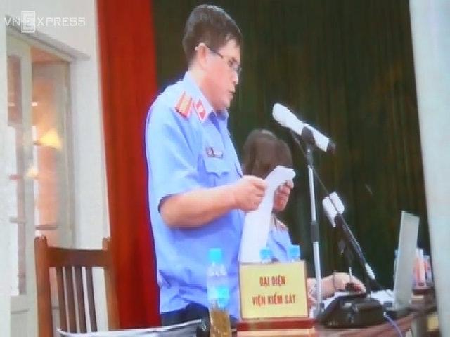 VKS đề nghị mức án bà Châu Thị Thu Nga