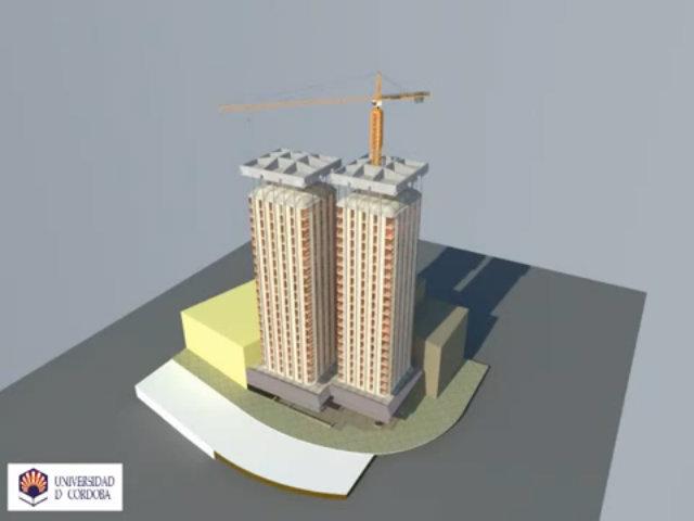 Tòa nhà xây ngược ở từ trên xuống dưới ở Tây Ban Nha