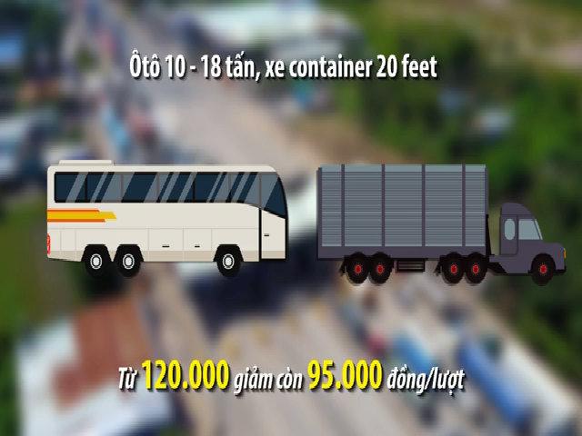 Trạm BOT Biên Hòa sẽ thay đổi mức phí như thế nào