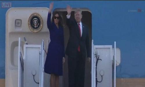 Bổ sung video Trump