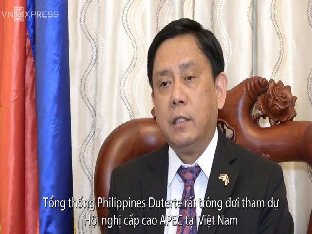 Ông Noel Servigon Đại sứ Philippines tại Việt Nam
