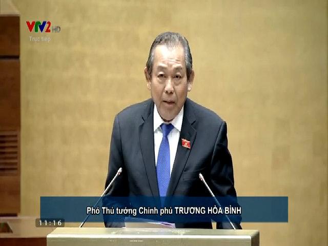 Phó thủ tướng - Trương Hòa Bình