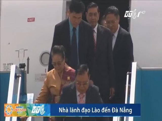 Lãnh đạo Lào đến Đà Nẵng dự Apec 2017