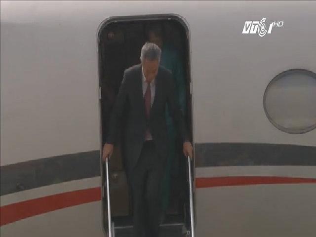Thủ tướng Lý Hiển Long đến dự Apec 2017