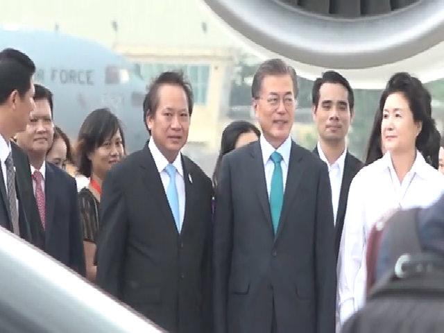 Tổng thống Hàn Quốc đến Đà Nẵng