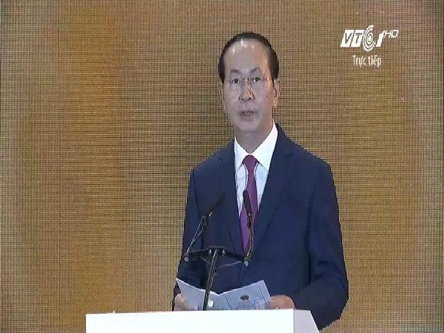 Chủ tịch nước phát biểu tại APEC