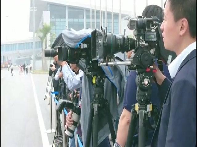 Chờ Chủ tịch Trung Quốc tại Nội Bài