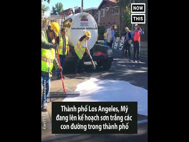 Giải pháp đối phó với 'đảo nhiệt đô thị' ở Los Angeles
