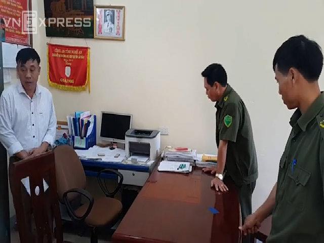Nổ súng tại xã Nghi Quang