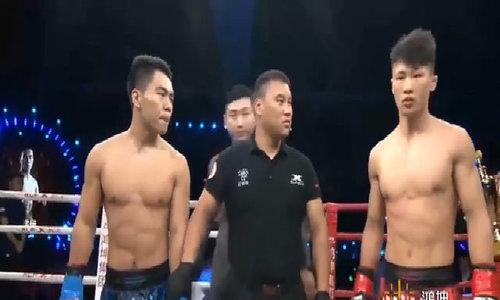 Võ sỹ Trung Quốc hạ đối thủ trong 1 giây nhờ 'đánh lén'