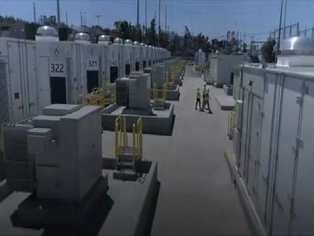 Cơ sở trữ điện bằng pin lithium-ion lớn nhất thế giới