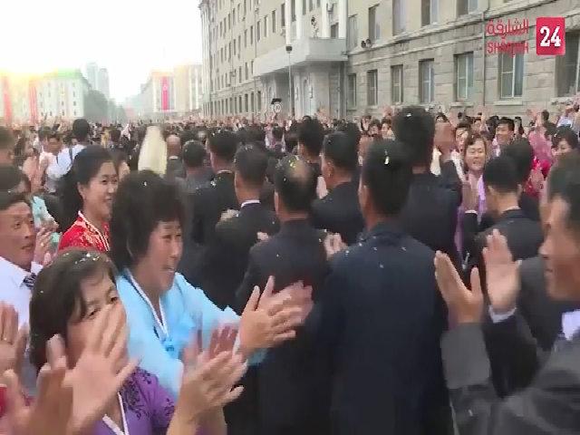 Biển người Triều Tiên mừng thử bom nhiệt hạch