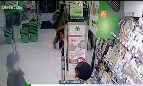 Nghi phạm đặt bom tại siêu thị ở Saint Petersburg