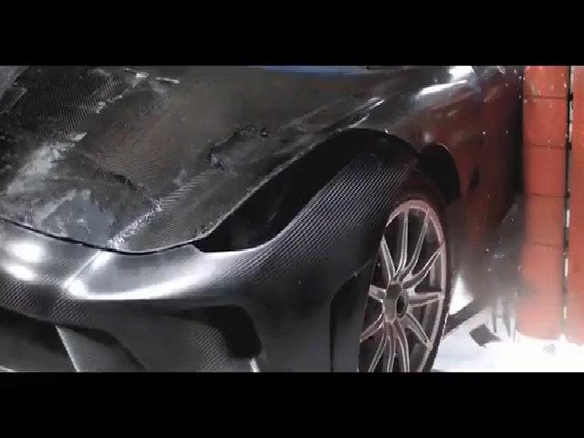 Kiểu thử nghiệm va chạm của siêu xe 1,9 triệu USD