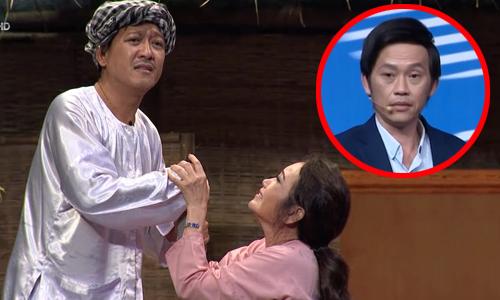 Trường Giang dạy vợ khóc để lấy 100 triệu từ Hoài Linh