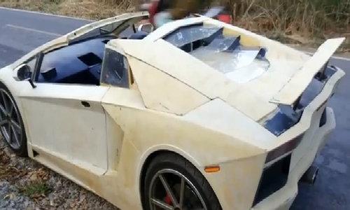 Thợ Thái Lan độ siêu xe Lamborghini