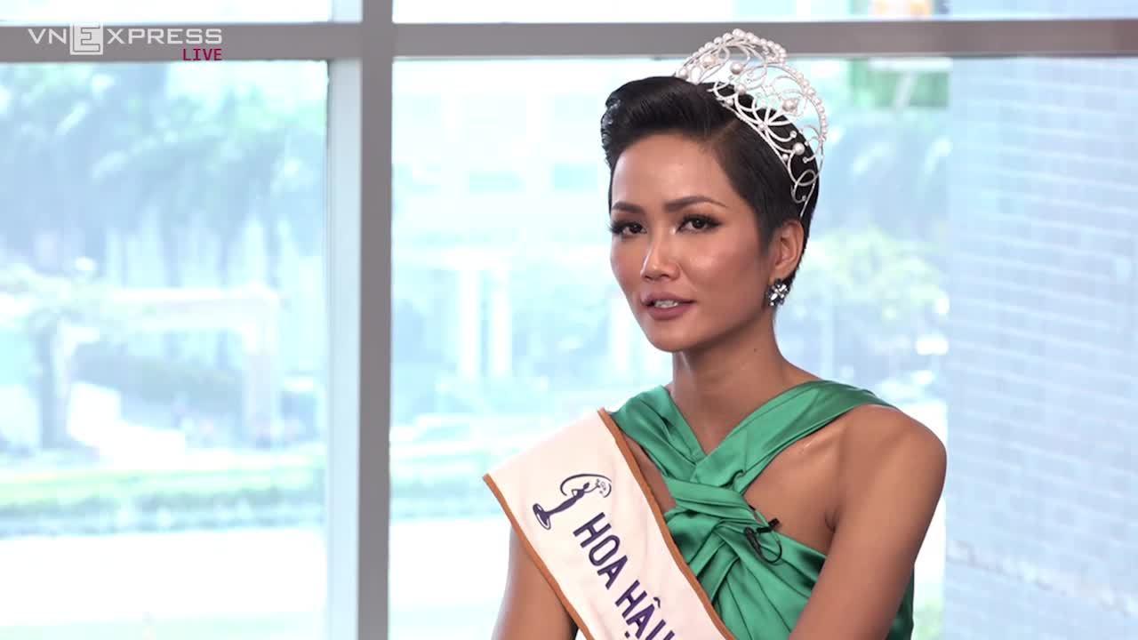Hoa hậu Hoàn vũ 2017H'Hen Niê từng làm giúp việc thời sinh viên