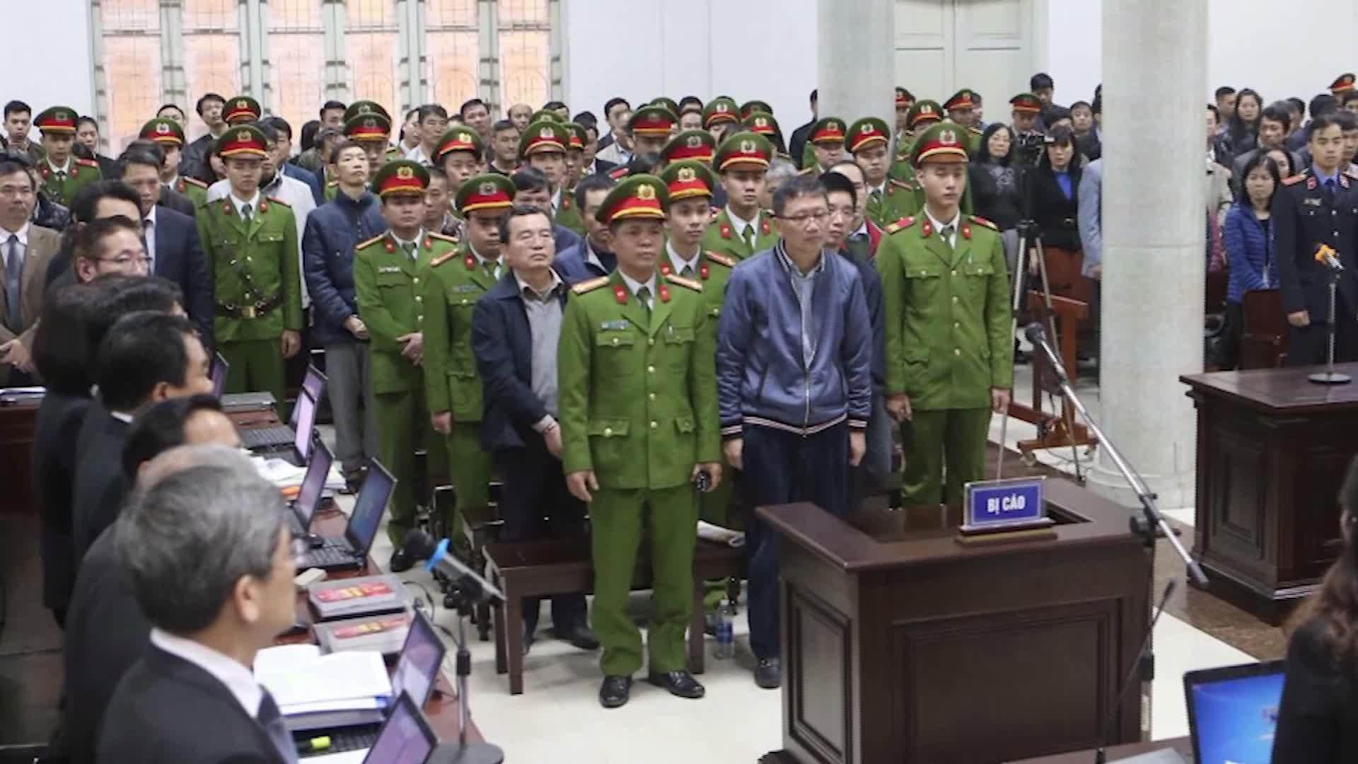 Bị cáo Đinh La Thăng nhận án 13 năm tù, Trịnh Xuân Thanh chung thân