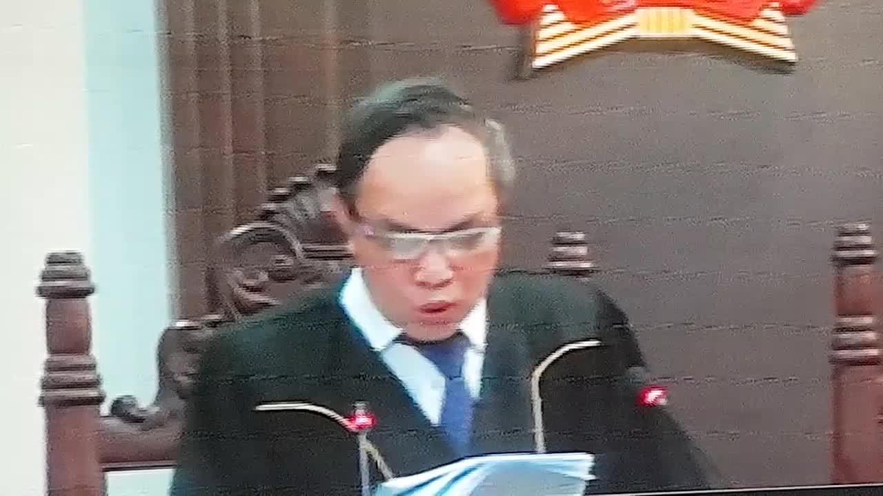 Tòa nêu quan điểm về chỉ định thầu của ông Đinh La Thăng