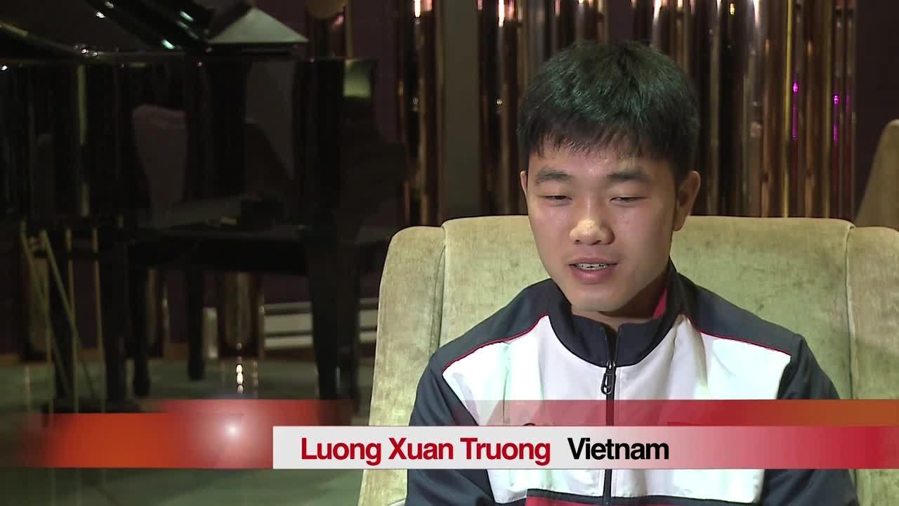 Xuân Trường trả lời tiếng Anh về tinh thần của U23 Việt Nam