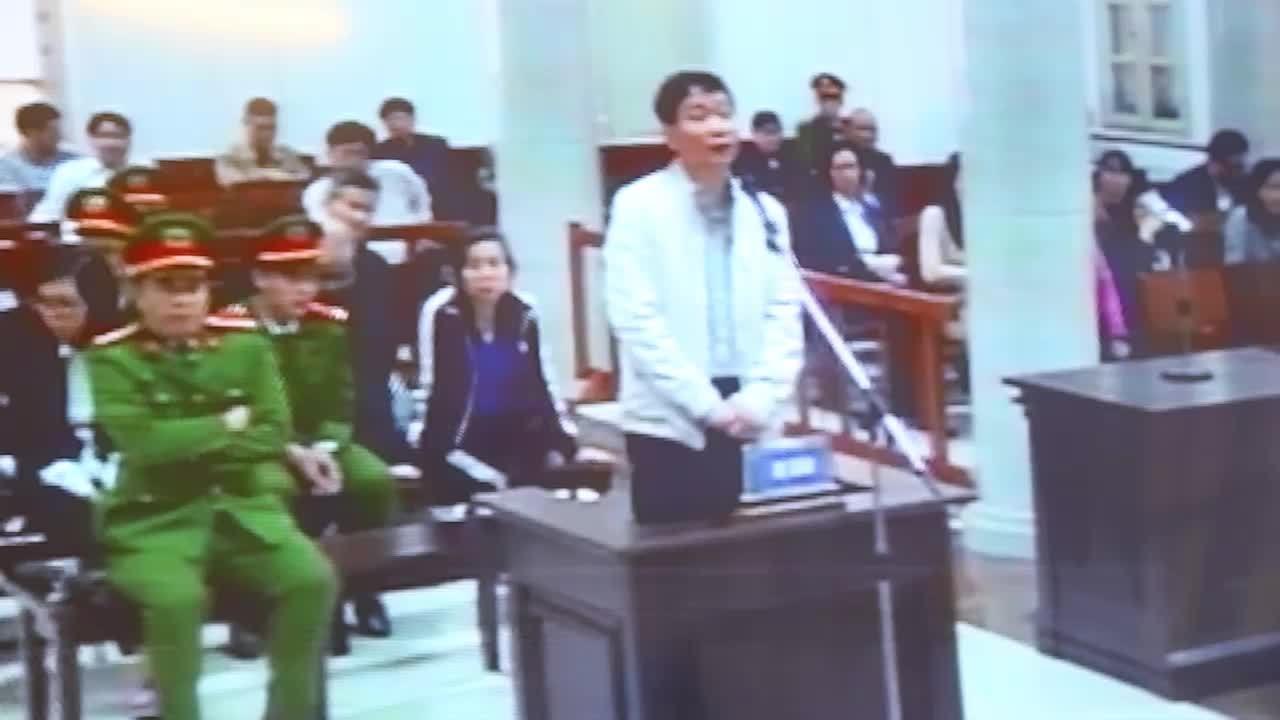 Trịnh Xuân Thanh trả lời tại tòa chiều 24/1