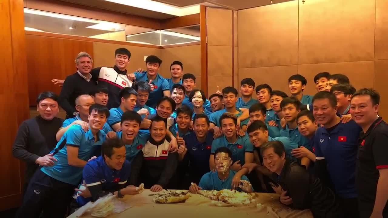 Tinh thần đồng đội của các cầu thủ U23 Việt Nam