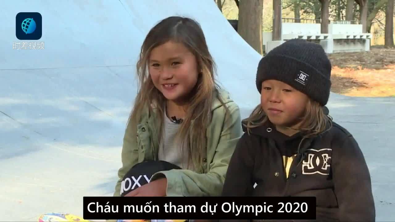 Vận động viên trượt ván chuyên nghiệp nhỏ tuổi nhất thế giới