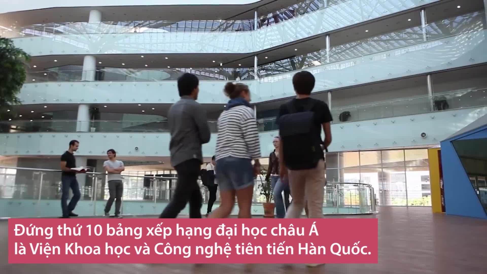 10 đại học tốt nhất châu Á 2018