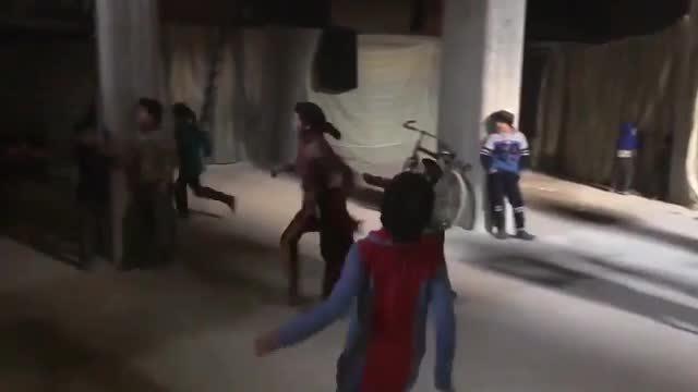 Cuộc sống dưới bóng tối những căn hầm trú ẩn ở Syria