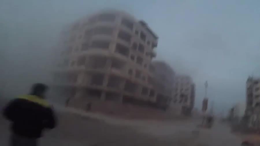 Một cuộc không kích nhằm vào Đông Ghouta