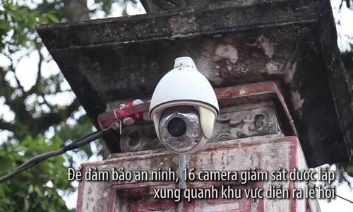 Hàng loạt người mất cắp trong lễ hội đền Trần