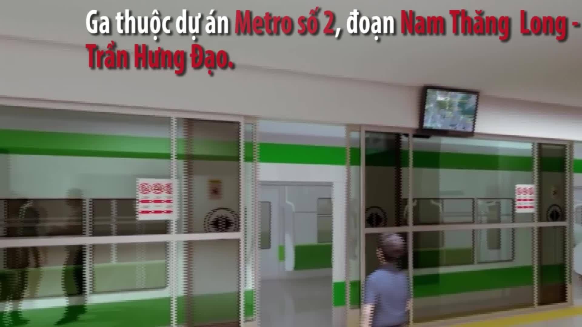 Ga ngầm tuyến Metro 1,5 tỷ USD cạnh hồ Gươm được thiết kế như thế nào?