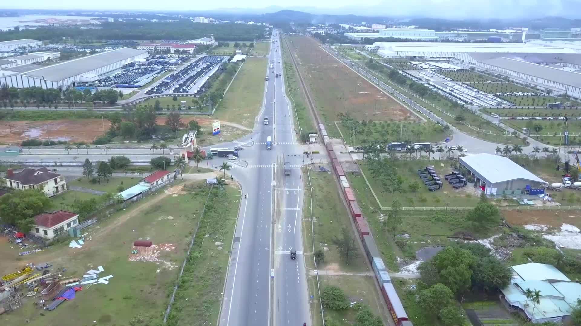 Quảng Nam xây dựng vòng xuyến hai tầng đầu tiên
