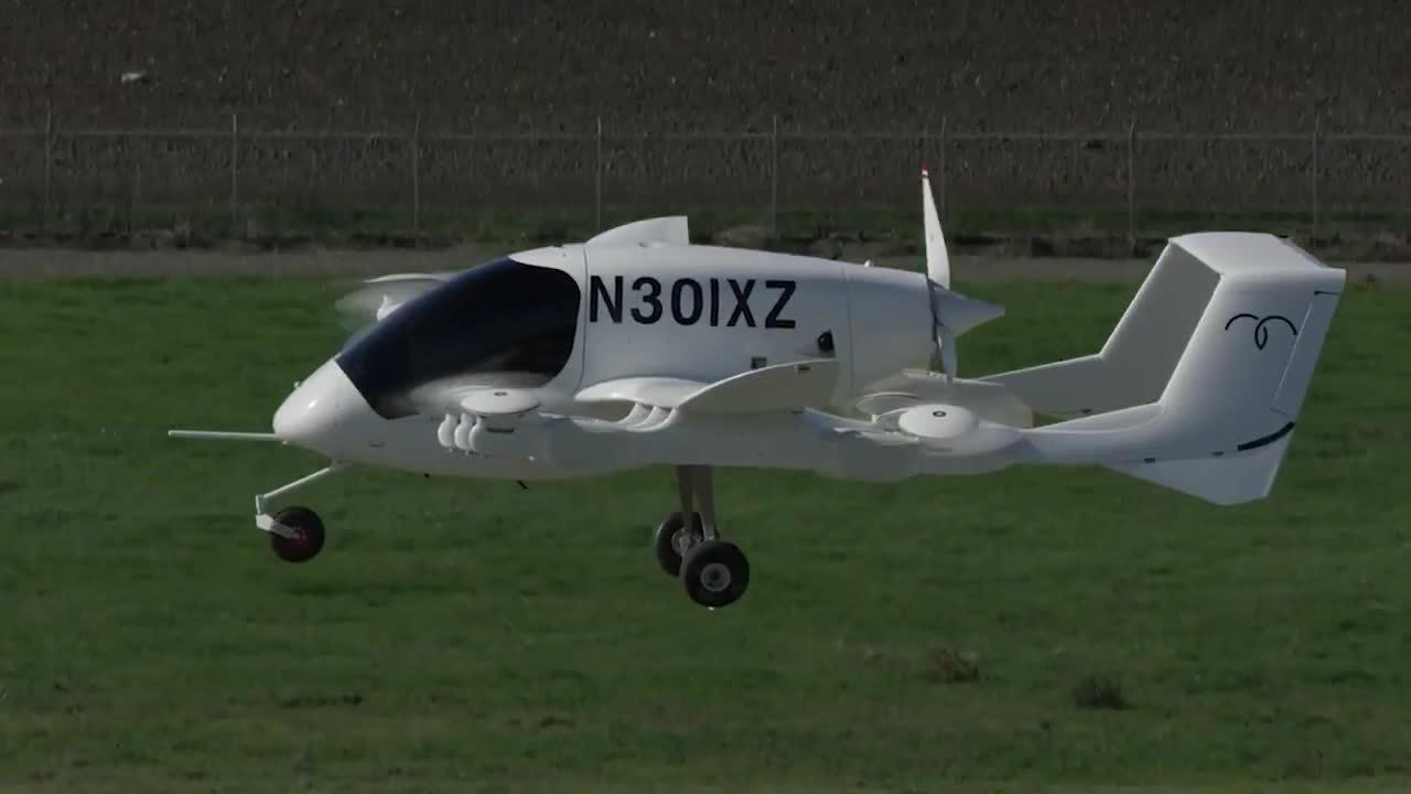 New Zealand sắp thử nghiệm taxi bay 12 cánh quạt