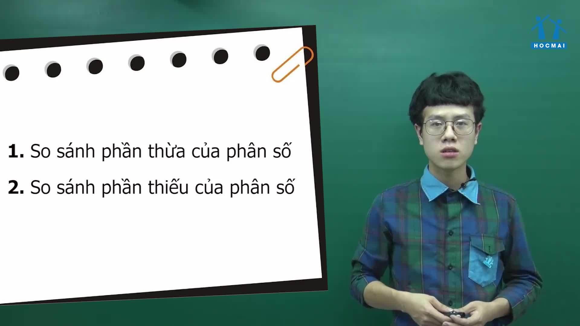 Phương pháp so sánh phân số đặc biệt trong toán lớp 4