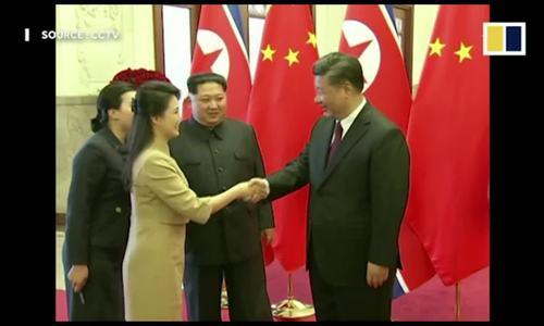 Phong cách thời trang của phu nhân Kim Jong-un gây chú ý ở Trung Quốc