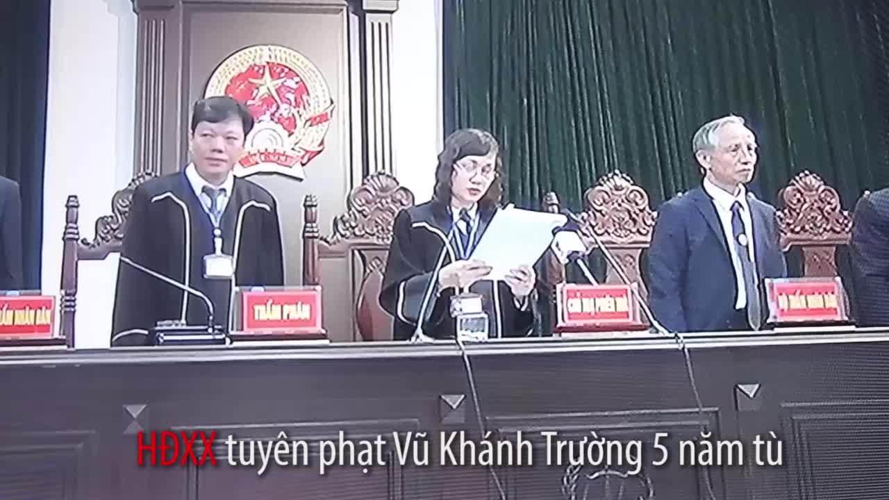 Đinh La Thăng phải bồi thường 600 tỷ (video thay)