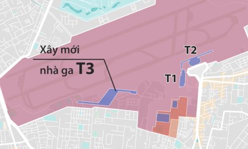 Sân bay Tân Sơn Nhất, được quy hoạch về phía nam như thế nào ?