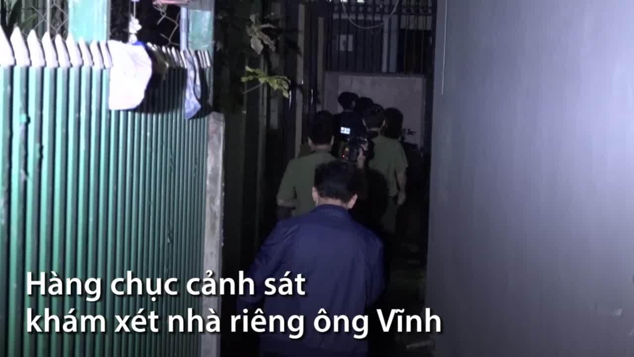 Bốn tiếng khám nhà cựu trung tướng Phan Văn Vĩnh