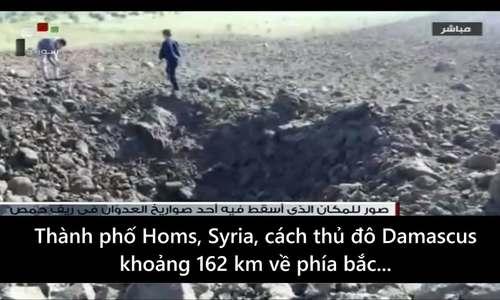 Syria công bố hậu quả vụ không kích của liên quân Mỹ, Anh, Pháp